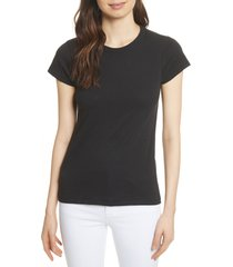 women's rag & bone the tee, size medium - black