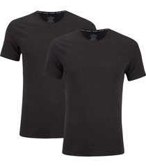calvin klein men's 2 pack crew neck t-shirt - black - xl - black