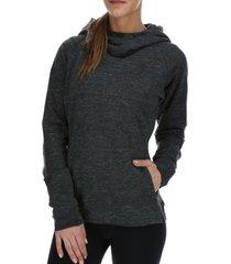 poleron hoodie vera negro body & soul