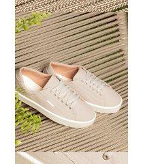 tênis feminino casual moda conforto zoccolette sapatênis feminino cinza z614l