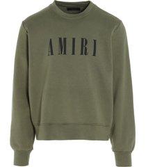 amiri amiri core logo sweatshirt
