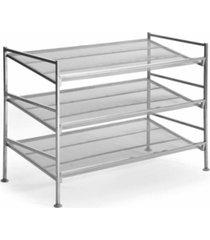 seville classics 3tier mesh shoe rack