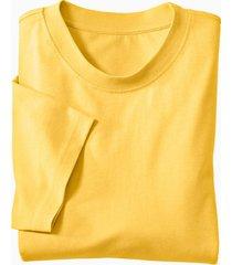 ecologisch t-shirt voor hem & haar, geel xl