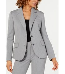 anne klein two-button blazer
