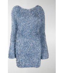 antonella rizza textured jumper dress