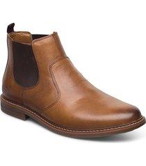 mens bergman - morago shoes chelsea boots brun skechers