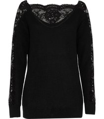 maglione con pizzo (nero) - bodyflirt boutique