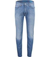 pierre cardin jeans lyon tapered 5-pocket blauw