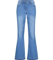 jeans ultra morbidi con cinta comoda (blu) - bpc bonprix collection