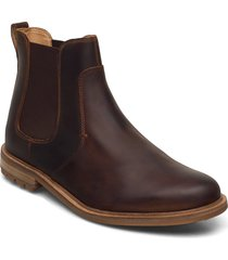 foxwell top shoes chelsea boots brun clarks