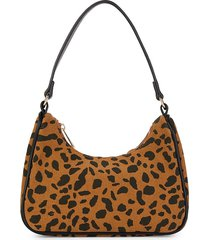 street level women's leopard-print hobo bag - leopard