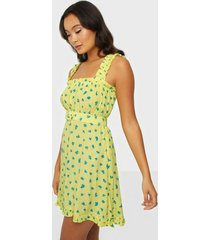 faithfull the brand mid summer mini dress fodralklänningar