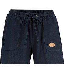 shorts in felpa effetto jeans (blu) - john baner jeanswear