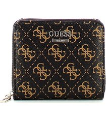 guess womens brown wallet