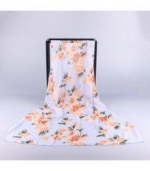 sciarpe casual da donna in chiffon oversize con stampa a scialle per donna