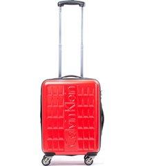 maleta cornell rojo 24 calvin klein