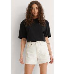 dr denim shorts - offwhite