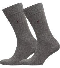 socks 2-pairs underwear socks regular socks grå tommy hilfiger