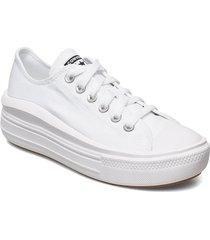 ctas move ox white/white/white sneakers skor vit converse