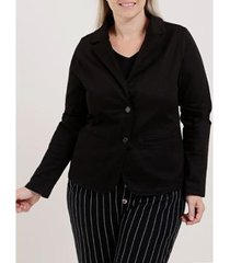 blazer plus size feminino - feminino