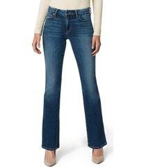 petite women's joe's the provocateur bootcut jeans, size 24p - blue