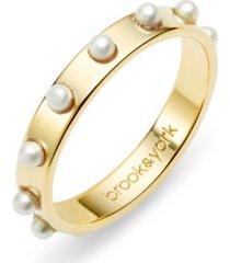 brook & york holly imitation pearl ring