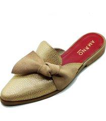 babucha nudo nude amano shoes
