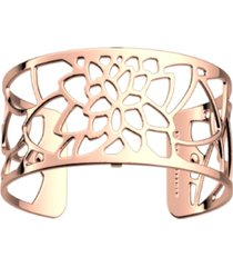 les georgettes by altesse openwork adjustable cuff nenuphar bracelet, 25mm, 1in