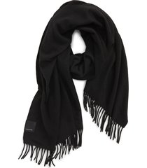 women's canada goose solid merino wool scarf