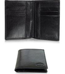 the bridge designer men's bags, story uomo dark brown leather men's vertical wallet