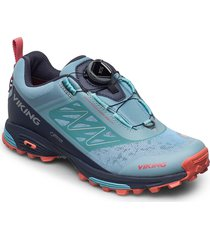 anaconda light boa gtx shoes sport shoes running shoes blå viking