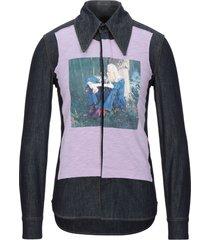 acne studios blå konst denim shirts