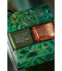 nails inc don't stop beleafing duo, multi