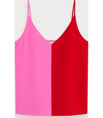 scotch & soda colourblock tanktop