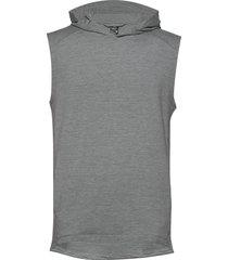 mens momentum hooded vest t-shirts sleeveless grå icebreaker