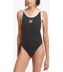 puma women's classic sleeveless bodysuit