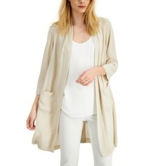 alfani woven open-front cardigan, created for macy's