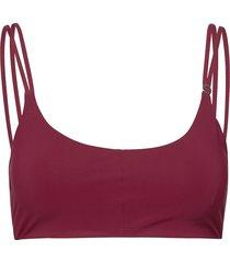 strap bikini top bikinitop röd casall