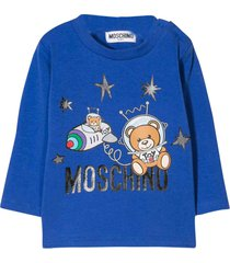 moschino blue t-shirt