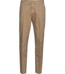 o2. regular cotton linen chino chino broek beige gant