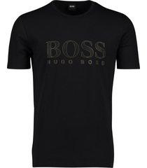 hugo boss t-shirt met opdruk zwart
