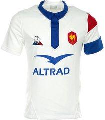 t-shirt korte mouw le coq sportif ffr xv maillot replica