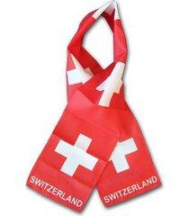 switzerland flag scarf