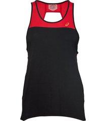 loose strappy tank t-shirts & tops sleeveless svart asics