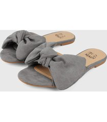 sandalia gris maui shoes