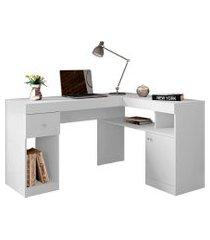 mesa para computador nilo 1 pt 1 gv branca