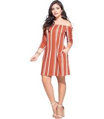 vestido corto para mujer estampado mp