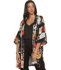 kimono negro-multicolor active