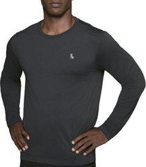 camiseta lupo protection manga longa masculina