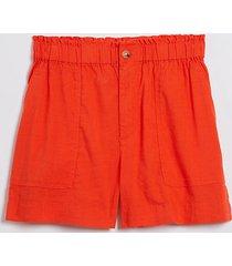 loft lou & grey softstretch linen shorts